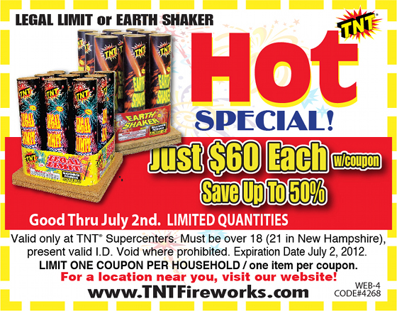 Valley discount fireworks coupons