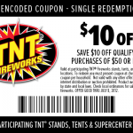 TNT Coupon 10