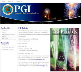 PGI New Website