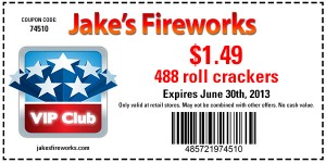 488 Roll of crackers $1.49