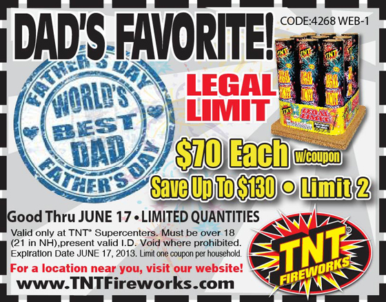 photograph regarding Tnt Fireworks Coupons Printable referred to as TNT Fireworks Archives - PyroGeeksPyroGeeks
